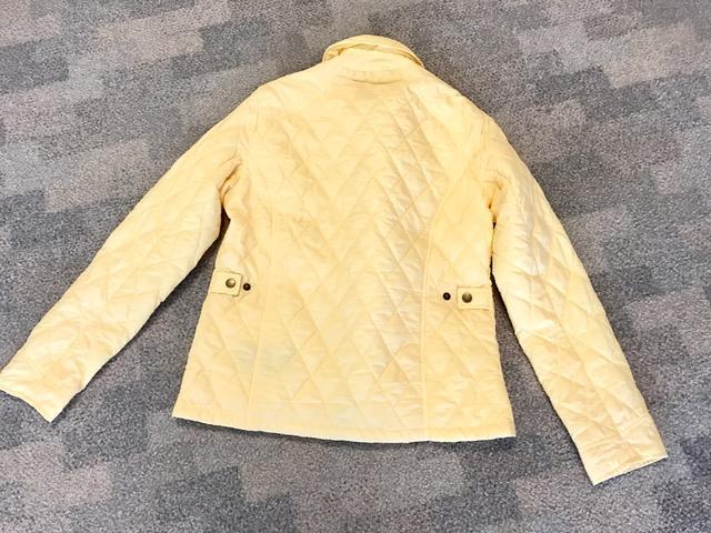 Barbour steppjacke gelb