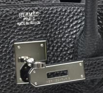 Hermès Birkin 35 schwarz