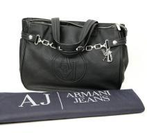 Armani Jeans Handtasche schwarz