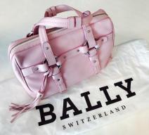 BALLY HANDTASCHE ROSA PINK