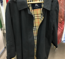 Burberry Mantel mit Kapuze