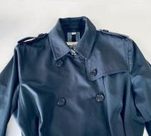 BURBERRY TENCH COAT BAUMWOLLE NACHTBLAU
