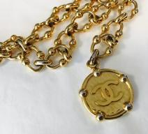 CHANEL METALLGÜRTEL GOLD
