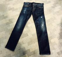 DSQUARED2 BLUE JEANS SLIM BLAU