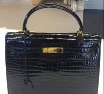 Hermès Kelly Kroko Handtasche