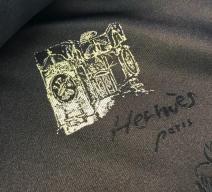 HERMÈS LEDERJACKE BRAUN
