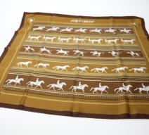 Hermès Seidenfoulard Pferde