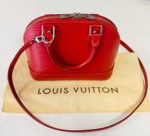 LOUIS VUITTON ALMA BB CROSSBODY EPI LEDER ROT