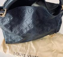 LOUIS VUITTON ARTSY MM MONOGRAM EMPREINTE LEDER NACHTBLAU GOLD