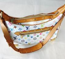 LOUIS VUITTON BOULOGNE MULTICOLORE WHITE