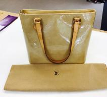 LOUIS VUITTON HOUSTON VERNIS HANDTASCHE