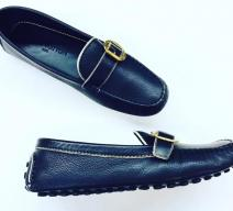 LOUIS VUITTON LOAFER SCHWARZ GOLD