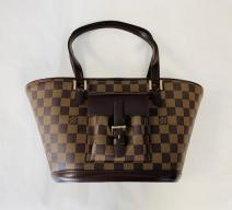 LOUIS VUITTON MANOSQUE SHOPPER DAMIER EBENE VINTAGE