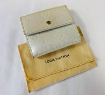 LOUIS VUITTON VERNIS PORTEMONNAIE ECRU GOLD GROSS