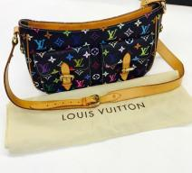 LOUIS VUITTON MULTICOLOR HANDTASCHE SCHWARZ