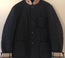 Burberry Brit Quilted Blazer Jacke blau