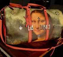 Louis Vuitton Mona Lisa by Da Vinci