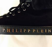PHILIPP PLEIN BOOTIES KUNSTFELL SCHWARZ