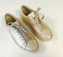 PHILIPPE MODEL SNEAKERS LEDER HELLBEIGE