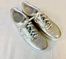 SALVATORE FERRAGAMO SNEAKERS LEDER GOLD