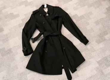 Burberry Trench Coat schwarz