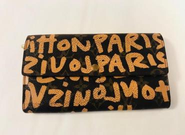 Louis Vuitton Portemonnaie Sprouse Graffiti braun