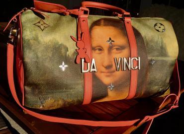 Louis Vuitton Mona Lisa by Da Vinci