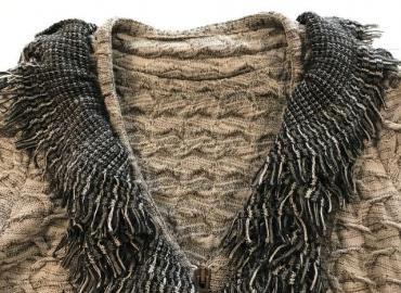 TRICOT CHIC CARDIGAN BEIGE OLIVE